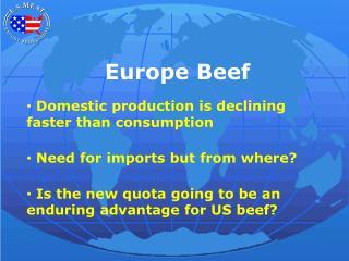 Europe Beef