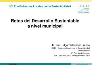 ICLEI � Gobiernos Locales por la Sustentabilidad