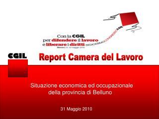 Report Camera del Lavoro