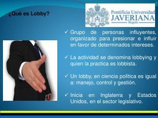 ¿Qué es Lobby?