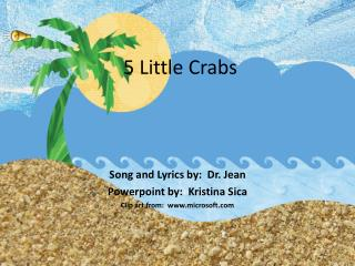 5 Little Crabs