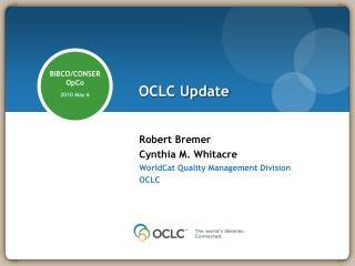 OCLC Update