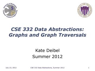 CSE 332 Data Abstractions: Graphs and Graph Traversals