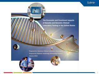 Key Applications of Genetic and Genomic Testing  (slide 1 of 2)