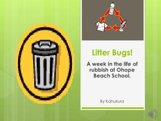 Litter Bugs!