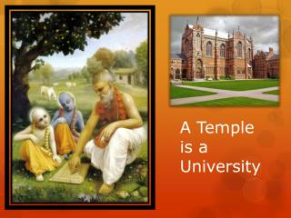 A Temple is a University