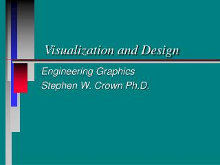 Visualization and Design