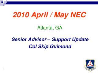2010 April / May NEC
