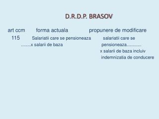 D.R.D.P. BRASOV