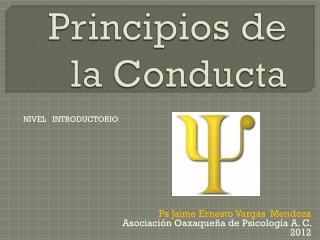 Principios de la Conducta