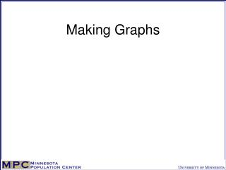 Making Graphs