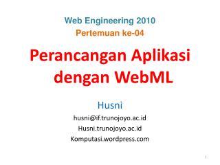 Web Engineering 2010 Pertemuan ke-04