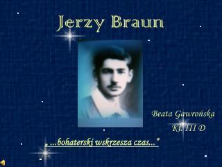 Jerzy Braun