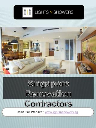 Singapore Renovation