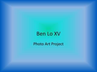 Ben Lo XV