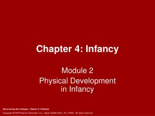 Chapter 4: Infancy