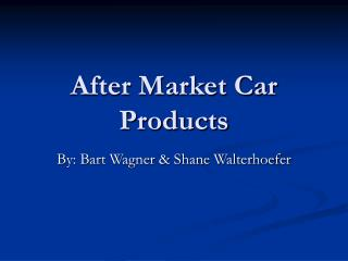After Market Car Products