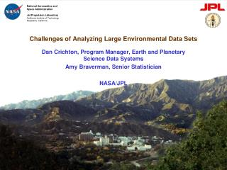 Challenges of Analyzing Large Environmental Data Sets