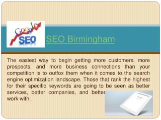 Seo Birmingham
