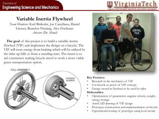 Variable Inertia Flywheel