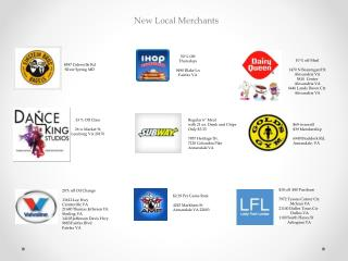 New Local  Merchants