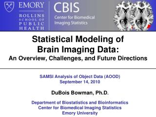 Statistical Modeling of  Brain Imaging Data:  An Overview, Challenges, and Future Directions