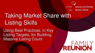 Taking Market Share with Listing Skills