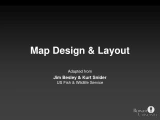 Map Design  Layout