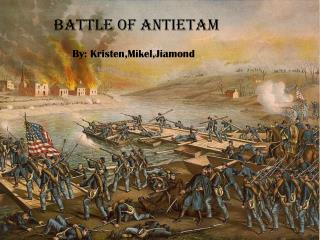 an overview of the battle of the antietam Battle of antietam page - battle maps, history articles, photos, and preservation news on this important 1862 civil war battle in maryland.