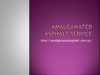 Amalgamated Asphalt Bitumen Services Perth WA