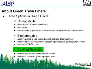 About Green Trash Liners