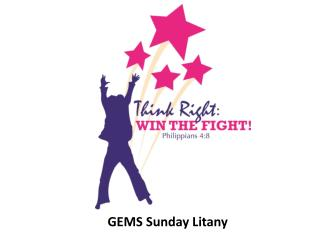GEMS Sunday Litany