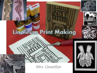 Linoleum Print Making