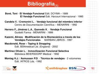 Bibliografía (1)