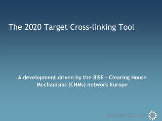 The 2020 Target Cross-linking Tool