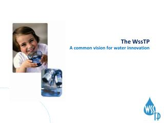 The WssTP A common vision for water innovation