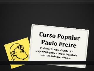 Curso Popular Paulo Freire