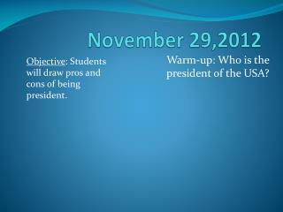 November 29,2012