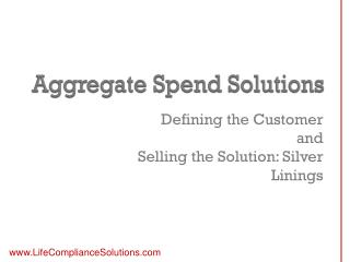 Aggregate Spend Solutions