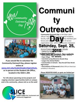If you would like to volunteer for