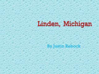 Linden,  Michigan