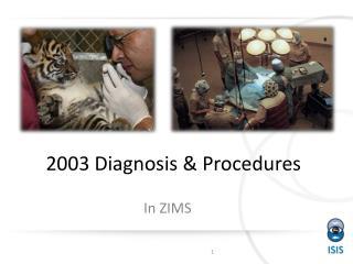 2003 Diagnosis & Procedures