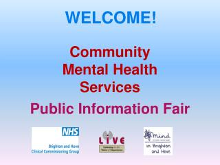 Community  Mental Health  Services - Public Information Fair