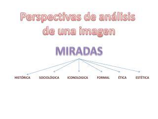 Perspectivas de análisis  de una imagen