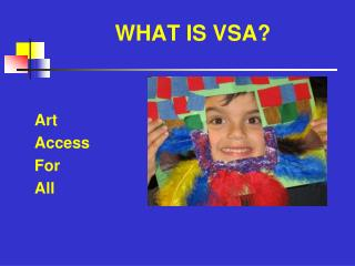 WHAT IS VSA?
