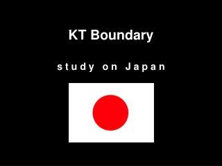 KT Boundary