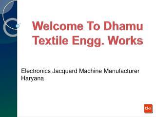 Electronics Jacquard Machine supplier