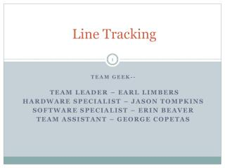 Line Tracking