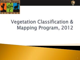 Vegetation Classification & Mapping Program, 2012