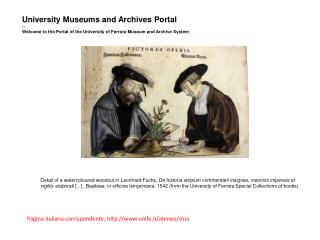 University Museums and Archives Portal �